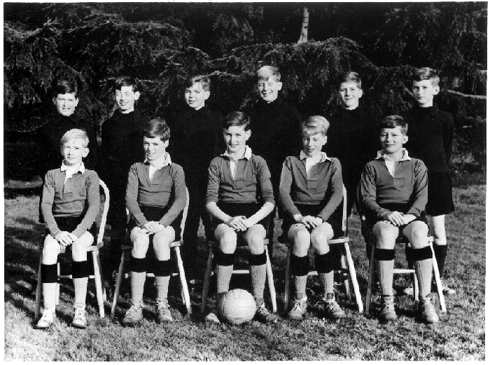 1st Eleven Football Team - 1960